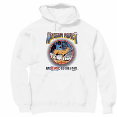 Hunting hoodie hooded sweatshirt: Nothing's perfect but DEER HUNTING is close
