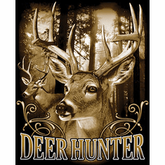Hunting Shirt:  Deer Hunter buck