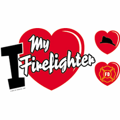 I love my Firefighter fireman shirt sayings