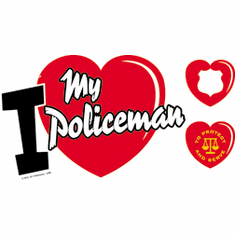 I love my Policeman Police shirt