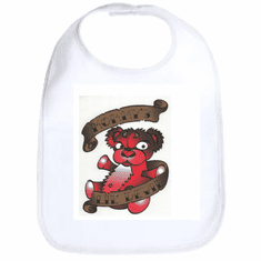 Infant baby bib Mommy's Lil devil