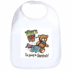 Infant baby bib That's IT I'm going to Grandpa's