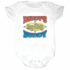 Infant baby toddler Creeper sleeper body suit one piece Daddy's Itty Bitty Buddy