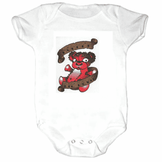 Infant baby toddler Creeper sleeper body suit one piece Mommy's Lil devil