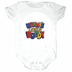 Infant baby toddler Creeper sleeper body suit one piece Mommy's little buddy