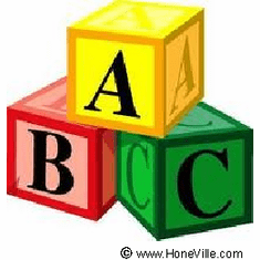 Infant baby toddler kids A B C Alphabet blocks