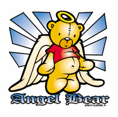 Infant baby toddler kids Angel Bear
