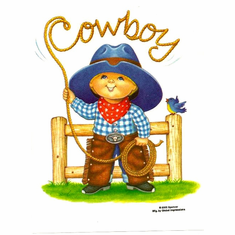 Infant baby toddler kids Cowboy little boy