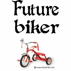 Infant baby toddler kids Future biker tricycle trike bike