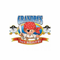 Infant baby toddler kids Grandpa's 1st First Mate
