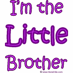 Infant baby toddler kids I'm the LITTLE Brother