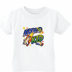 Infant baby toddler kids t-shirt Astro kid