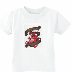 Infant baby toddler kids t-shirt Mommy's Lil devil