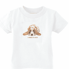 Infant baby toddler kids t-shirt puppy dog doggy I need a hug