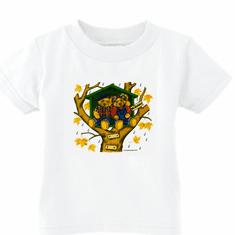 Infant baby toddler kids t-shirt teddy bears treehouse
