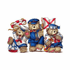 Infant baby toddler kids teddy bears red white blue Americana