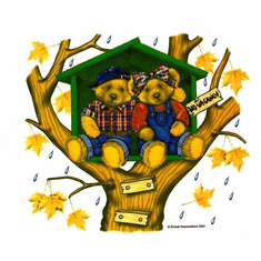 Infant baby toddler kids teddy bears treehouse