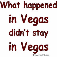 Infant baby toddler kids What happened in Vegas didn't stay in Vegas