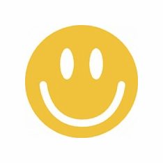 Infant baby toddler kids yellow Smiley face Smile