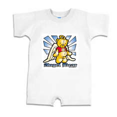 Infant baby toddler Romper body suit one piece Angel Bear