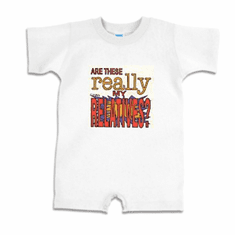 Infant baby toddler Romper body suit one piece Are these REALLY my relatives