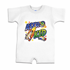 Infant baby toddler Romper body suit one piece Astro kid
