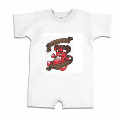 Infant baby toddler Romper body suit one piece  Daddy's lil devil