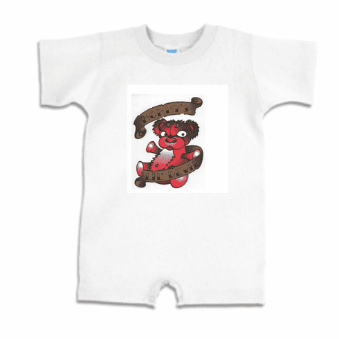 Infant baby toddler Romper body suit one piece Mommy's Lil devil
