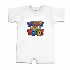 Infant baby toddler Romper body suit one piece Mommy's little buddy
