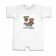 Infant baby toddler Romper body suit one piece That's IT I'm going to Grandpa's