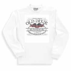 long sleeve t-shirt or sweatshirt Original authentic Old Dixie confederate flag southern