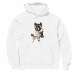 Nature Animal Dog doggy puppy Akita pullover hoodie hooded sweatshirt