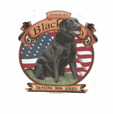 Nature Animal Dog doggy puppy American black lab labrador shirt t-shirt