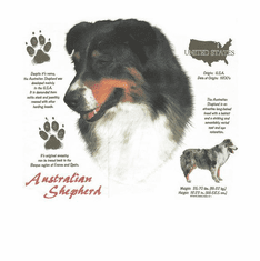 Nature Animal Dog doggy puppy Australian Shepherd shirt t-shirt
