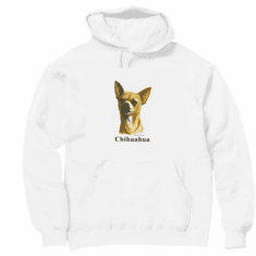 Nature Animal Dog doggy puppy chihuahua pullover hoodie hooded sweatshirt