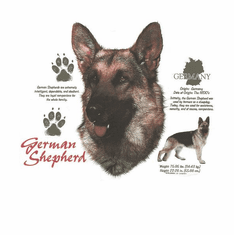 Nature Animal Dog doggy puppy German Shepherd shirt t-shirt