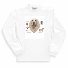 Nature Animal Dog doggy puppy great pyrenees sweatshirt long sleeve t-shirt
