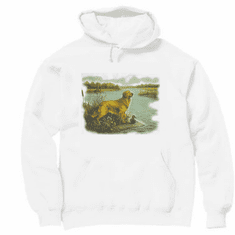 Nature Animal Dog doggy puppy hunting dog duck pullover hoodie hooded sweatshirt