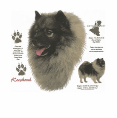 Nature Animal Dog doggy puppy Keeshond shirt t-shirt