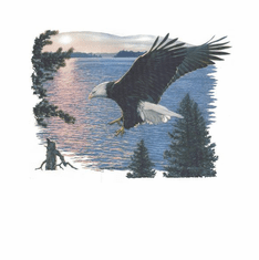 Nature Animal wild Eagle shirt t-shirt