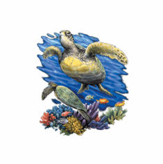 Nature Animal Wild sea turtle ocean life shirt t-shirt