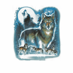 Nature Animal wolves shirt t-shirt