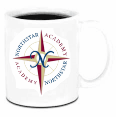 Northstar Academy 11oz coffee cup design 1b