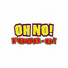 novelty birthday shirt OH NO! Four-O 40 forty 40th