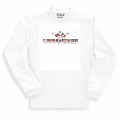 novelty Long sleeve T-shirt or Sweatshirt CSA colors of confederacy Dixie southern south confederate