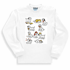 novelty long sleeve t-shirt or sweatshirt DALMATION dog dogs puppy puppies Dalmations