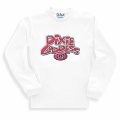 novelty long sleeve t-shirt or sweatshirt Dixie Goddess southern south confederate flag