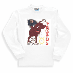 novelty long sleeve T-shirt or sweatshirt horoscope new age Taurus bull
