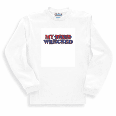 novelty long sleeve t-shirt or sweatshirt My Dixie wrecked southern redneck confederate