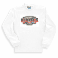 novelty long sleeve T-shirt or sweatshirt official REDNECK since birth dixie confederate flag southern rebel